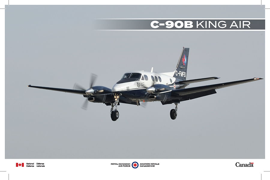 C-90B King Air fact sheet image