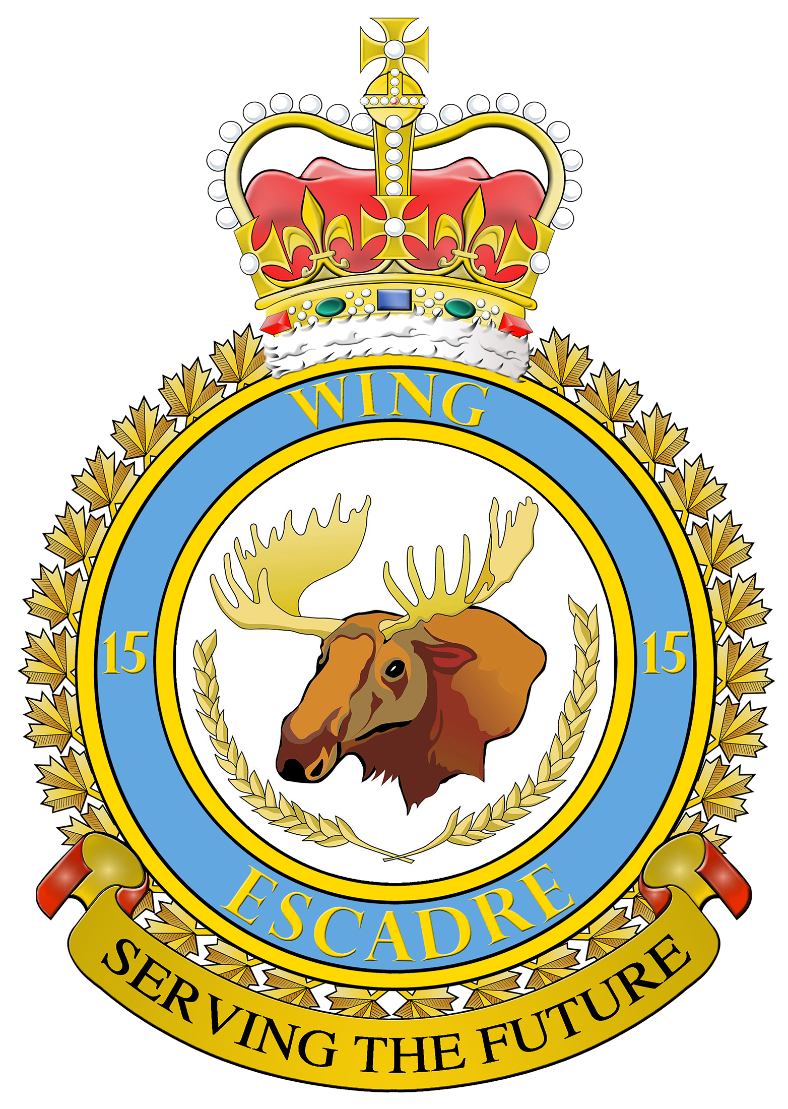 15 Wing Badge
