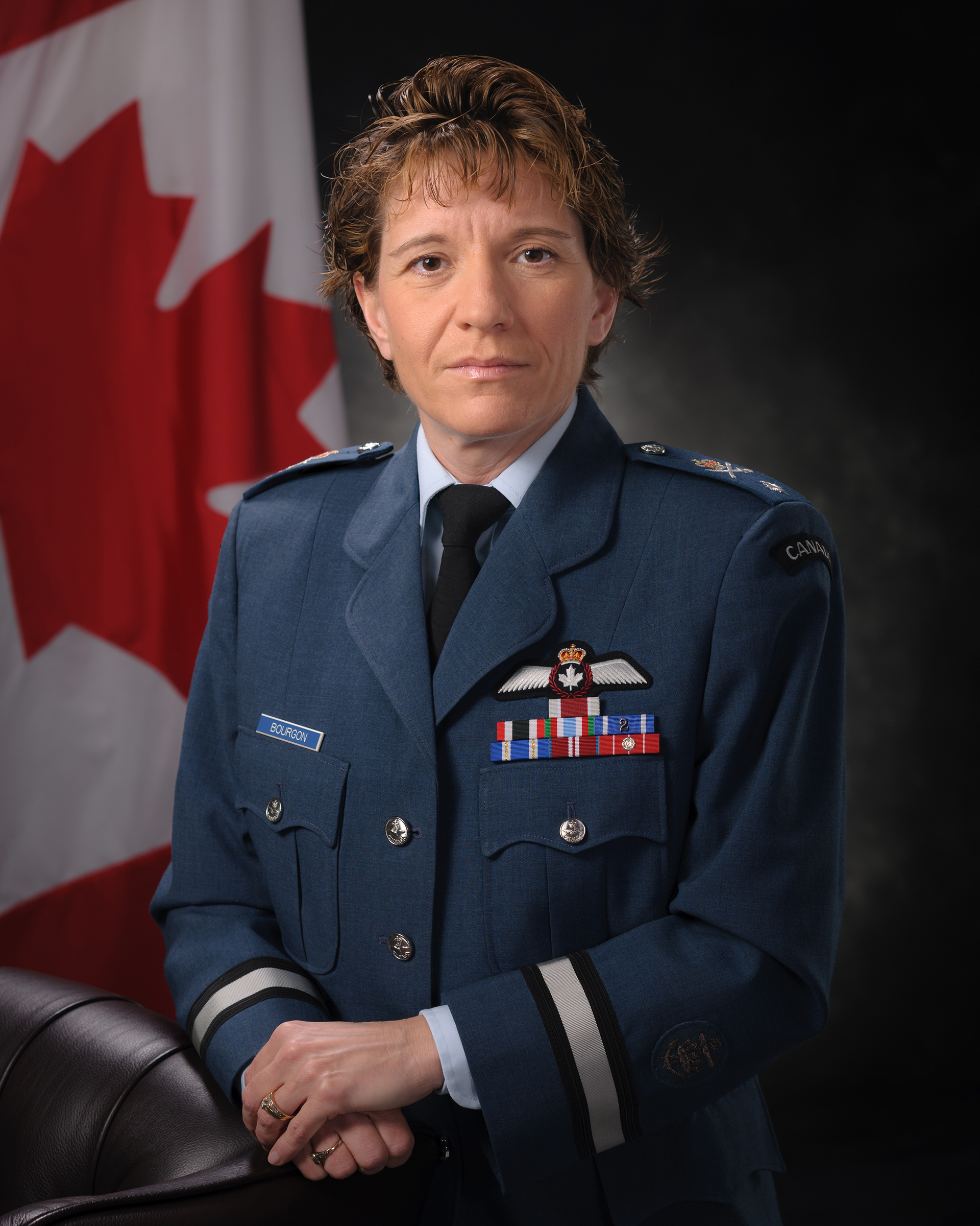 royal canadian air force news article women in aviation brigadier general lise bourgon. Black Bedroom Furniture Sets. Home Design Ideas