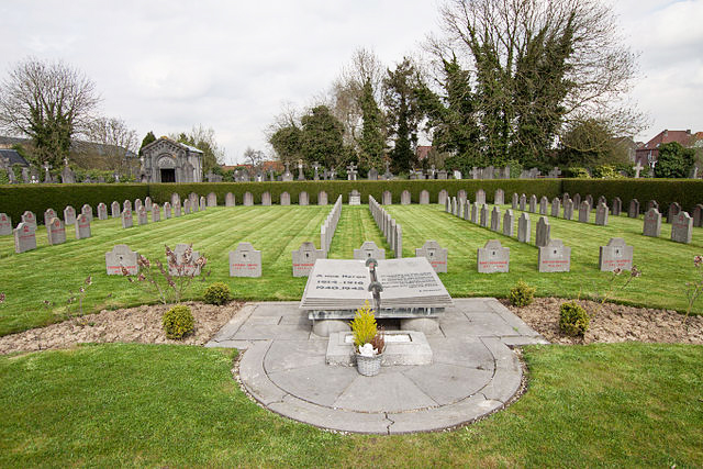 Lieutenant Henry Rath is buried in the Allied Extension of Tournai Communal Cemetery in Hainaut, Belgium. PHOTO: Submitted