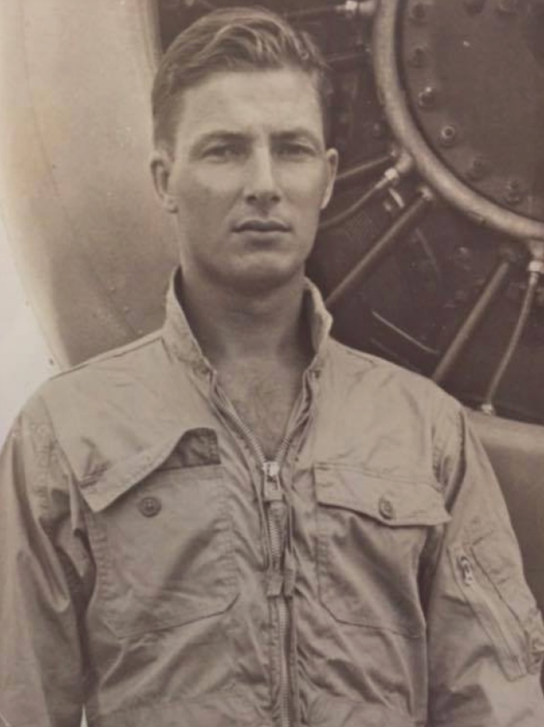 Lieutenant Barry Troy, a Royal Canadian Navy Banshee fighter pilot, was 29 when he disappeared off the coast of Florida during a training exercise on February 25, 1958. PHOTO: Submitted