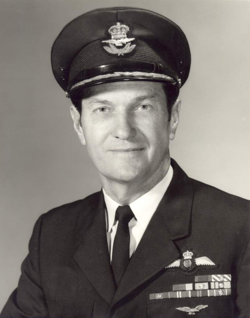 Jack Watts retired from the RCAF with the rank of brigadier-general. PHOTO: Submitted