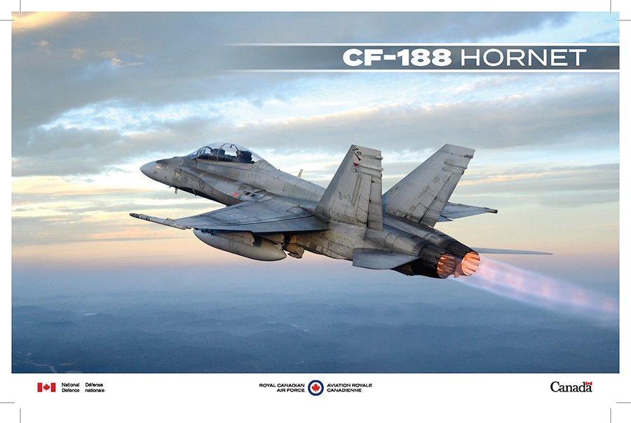 CF-188 Hornet fact sheet image