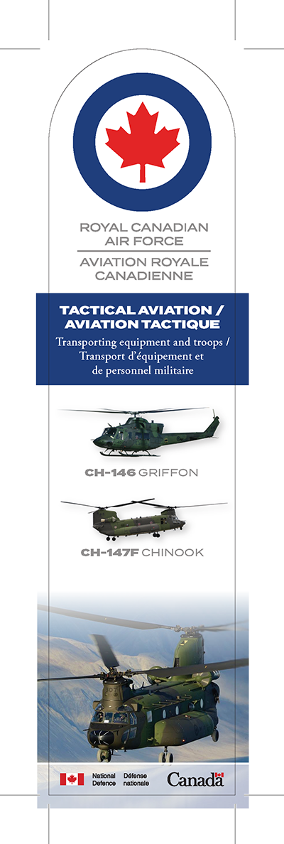 Tactical aviation bookmark