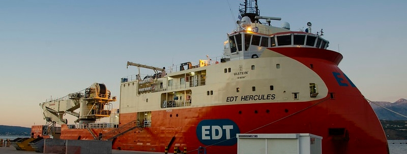 Recovery operation - EDT Hercules